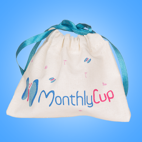 MenstrualCup - MonthlyCup - Size 2 - Bag